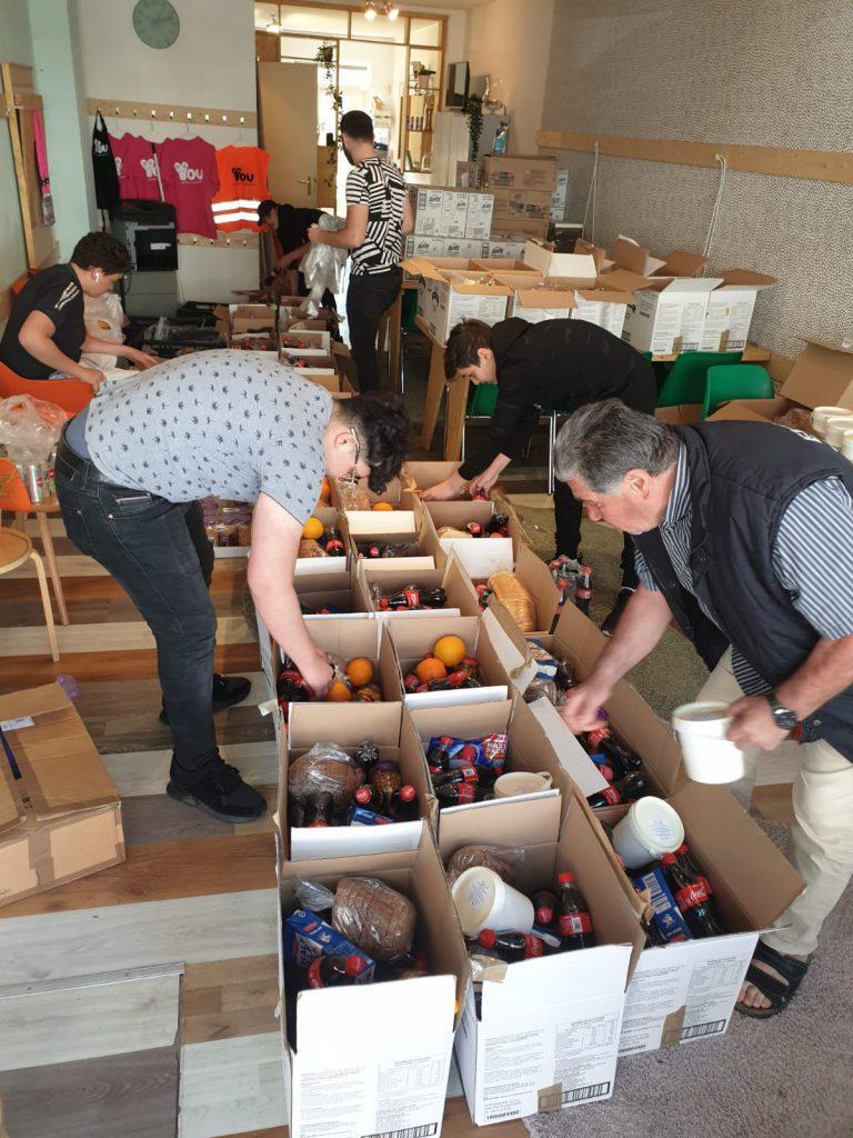 Voedselpakketten kwetsbare 'Corona'